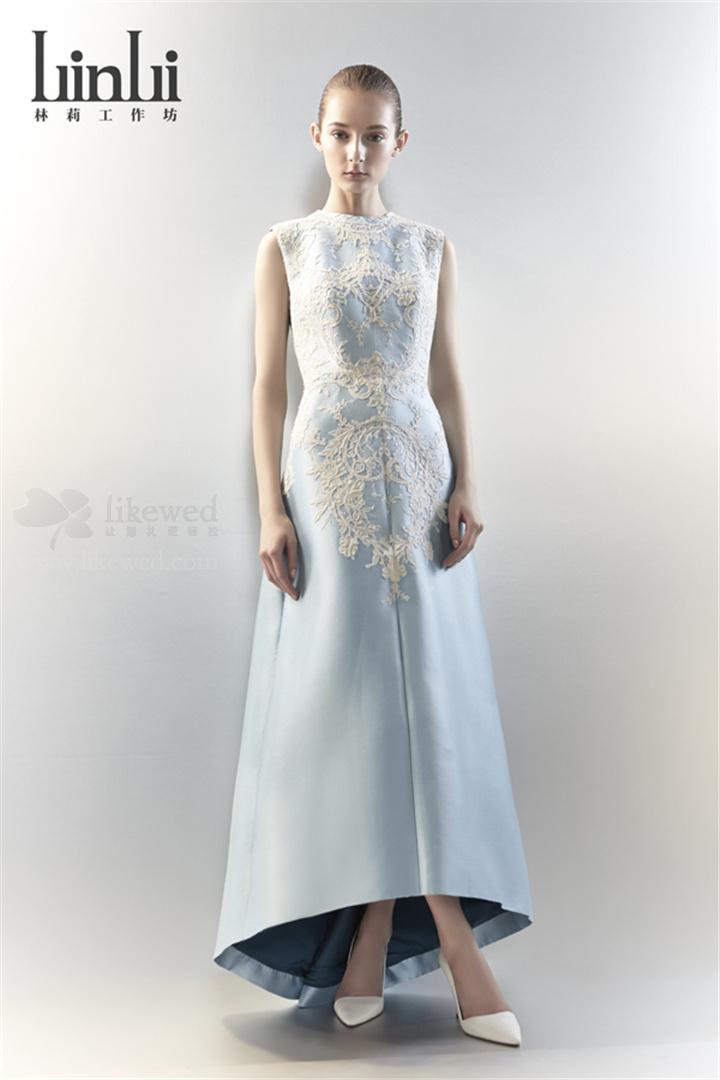 4林莉春夏婚纱礼服发布