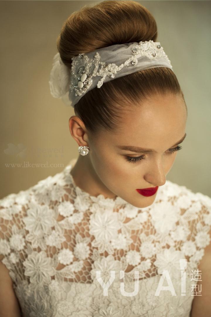 欧式复古新娘造型