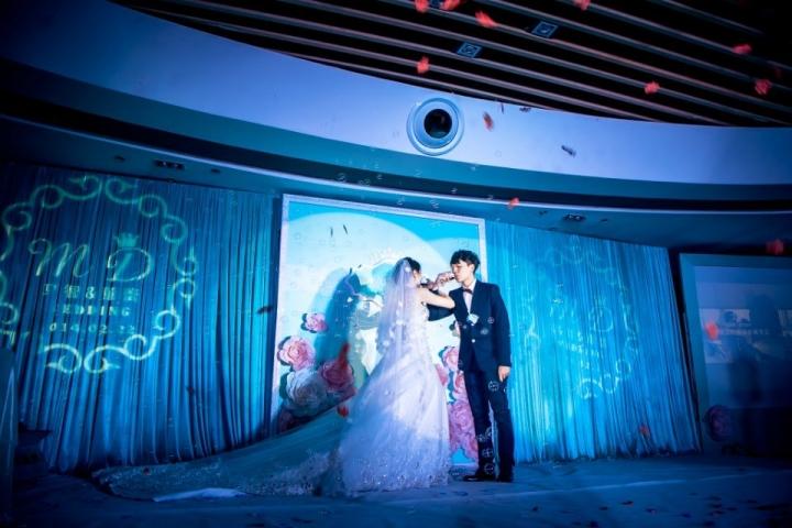 tiffany蓝色主题婚礼