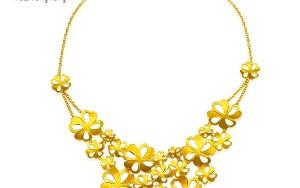 婚嫁黄金项链