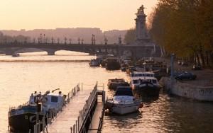 法国巴黎浪漫风光