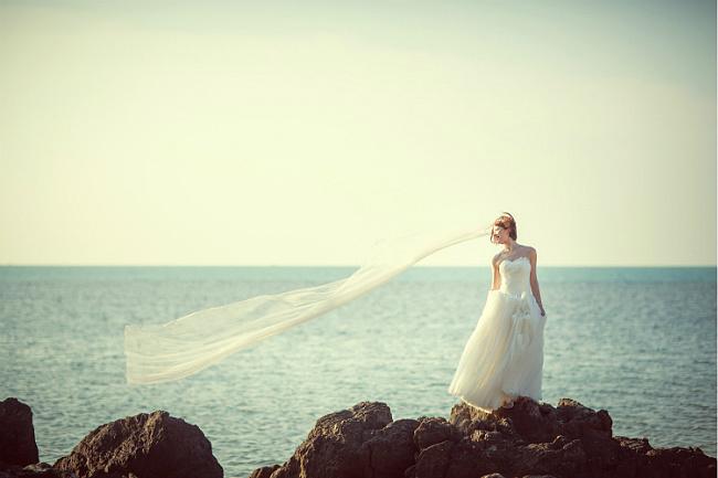 """""""自由之地""""苏梅岛旅拍婚纱照"""
