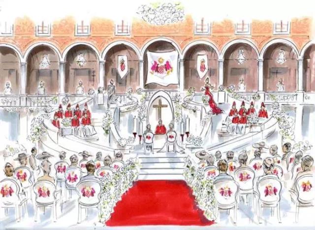 体验不一样的欧式皇室婚礼布置风格;