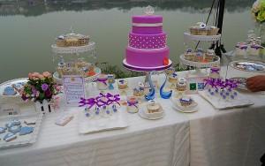 最潮婚礼甜品桌