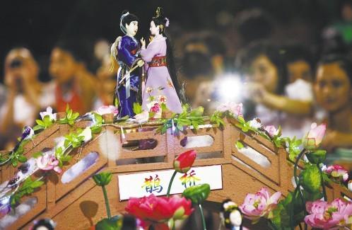 每年望牛墩镇都会举办七夕风情文化系列活动,今年的活动将于