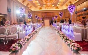 紫粉色系列主题婚礼