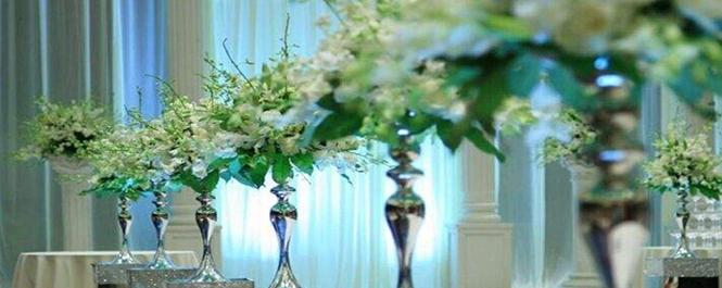 自然风婚礼布置