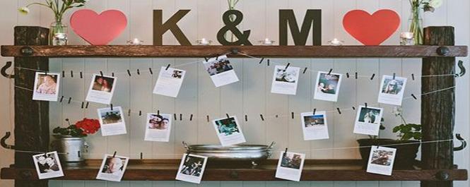 爱的纪念:婚礼照片墙&留影区