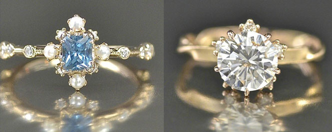 这九款精致的婚戒你喜欢哪些呢?