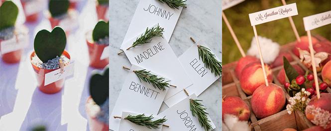 婚礼创意领位卡