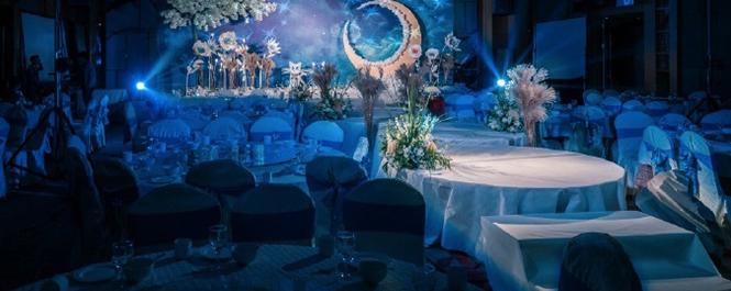梦幻水冰月主题婚礼