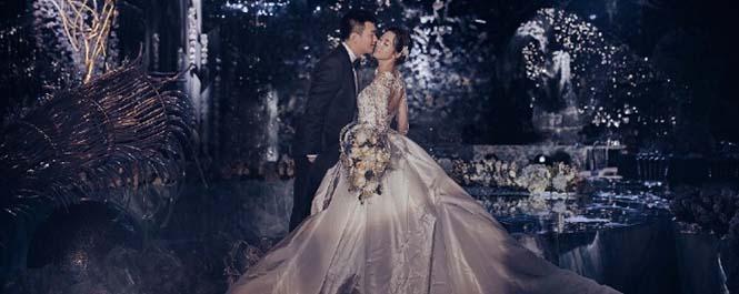 众多新娘梦中的嫁衣