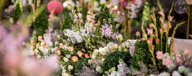 花园婚礼 如童话般美好