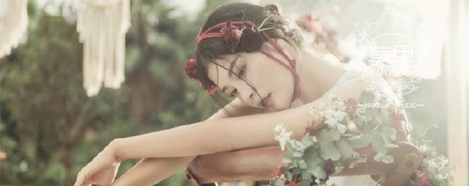 轻复古感的冬日暖新娘妆容造型
