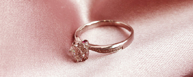 洛可可女王系列求婚钻戒