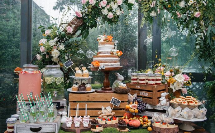童话森系甜品台