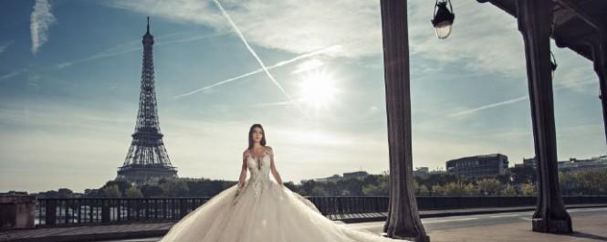 奥地利高定婚纱